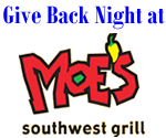Moe's Give back night